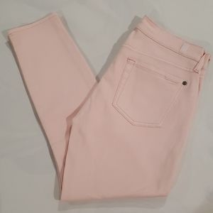 7 for all mankind Cropped Skinny Size 27